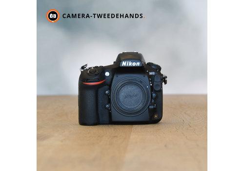 Nikon D810 -- 910 kliks