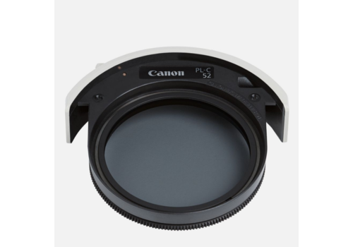 Gereserveerd -- Canon PL-C 52 Drop-in Circular Polarizing filter
