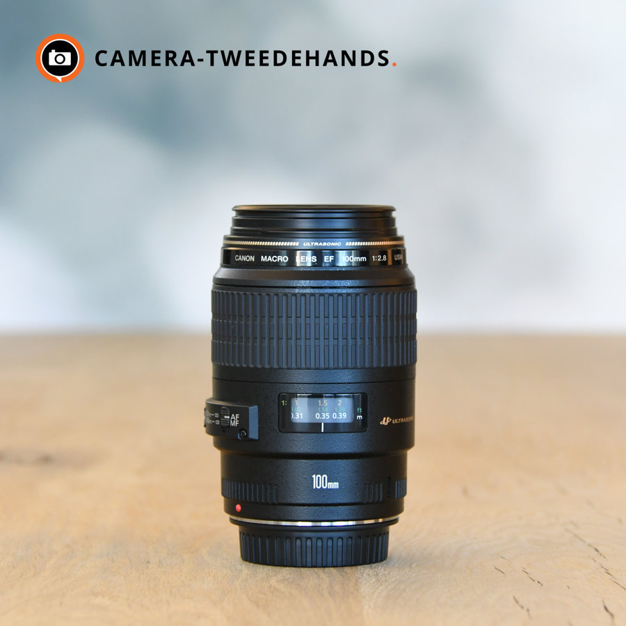 Canon EF 100mm f/2.8 Macro USM - OUTLET