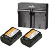 Jupio 2x Battery NP-FZ100 2040mAh + USB Dual Charger -- Incl. BTW