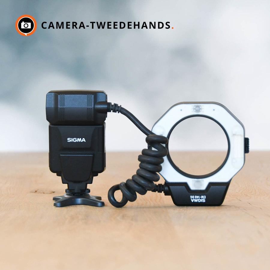 Sigma EM-140 DG macroflitser - Canon ringflitser