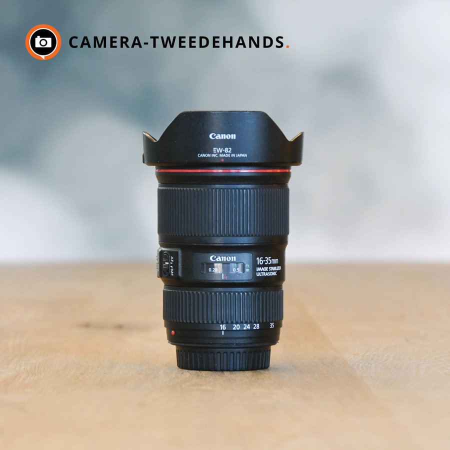 Canon 16-35mm 4.0 L EF IS USM -- Incl BTW