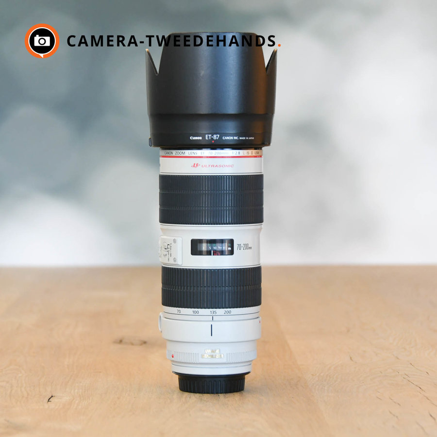 Canon 70-200mm 2.8 L EF IS USM II-- Incl. BTW