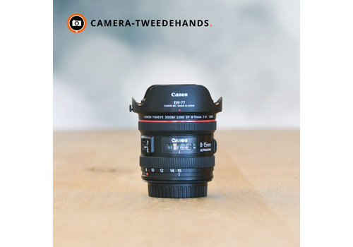 Canon 8-15mm 4.0 L EF USM -- Incl BTW