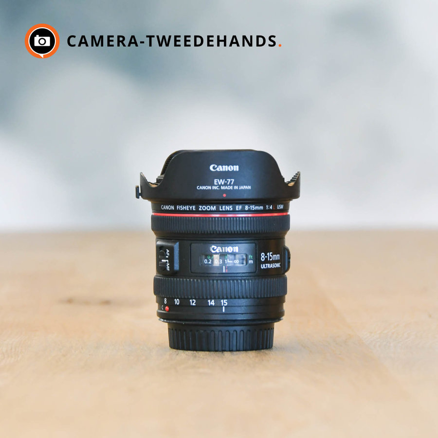 Canon EF 8-15mm f/4L Fisheye USM-- Incl BTW