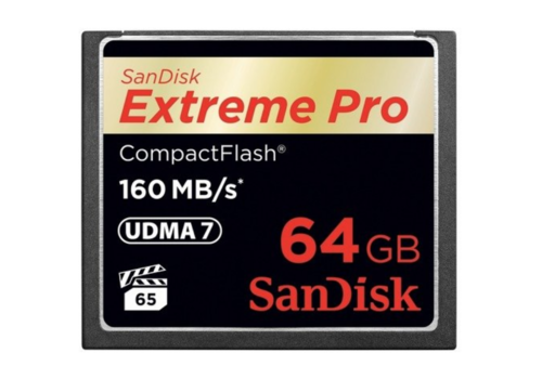 Sandisk 64GB Extreme Pro Compact Flash CF 160MB/s
