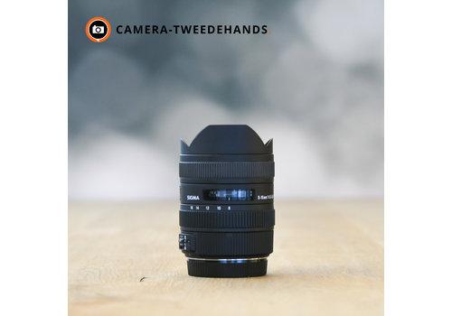 Sigma 8-16mm 4.5-5.6 DC HSM -- Canon