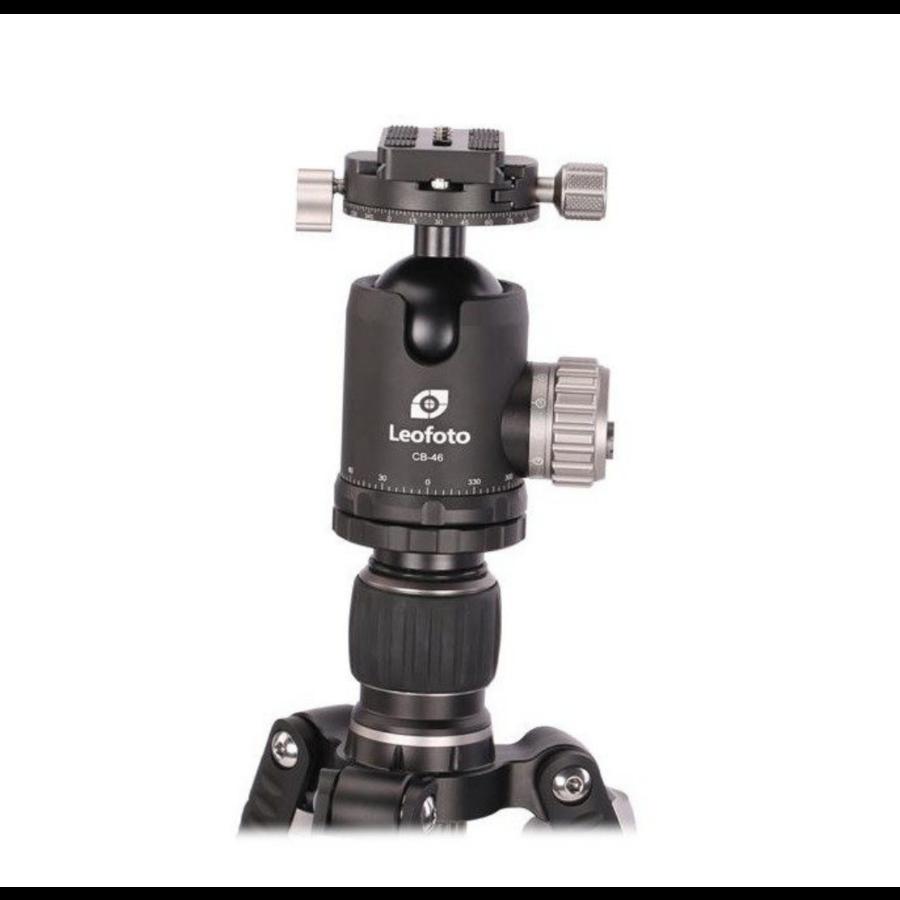 Leofoto CB-46 Balhoofd (+ QP-70 Snelkoppeling) - Outlet