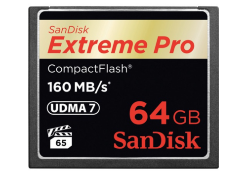 Sandisk 64GB Compact Flash Extreme Pro 160MB/s