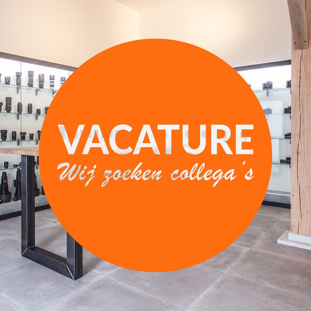 Vacature: Allround medewerker camerawinkel