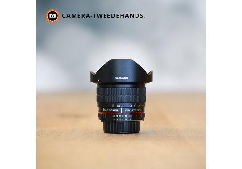 Samyang 8mm 2.8 UMC Fish-eye CS II - Nikon