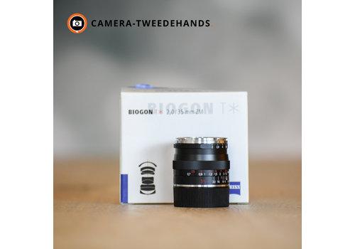 Carl Zeiss C-Biogon T* 35mm F2.0 ZM Zwart Leica-M