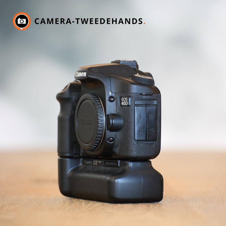 Canon 40D incl. BG-E2N grip -- 13505 kliks