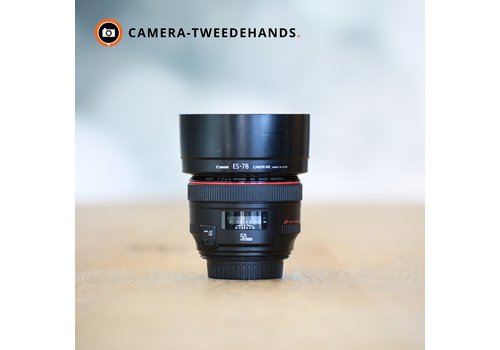 Canon 50mm 1.2 L EF USM -- Incl BTW