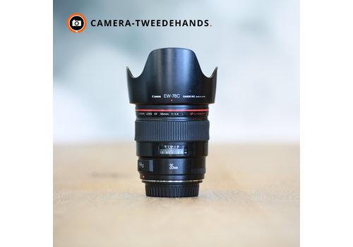 Canon 35mm 1.4 L EF USM -- Incl BTW