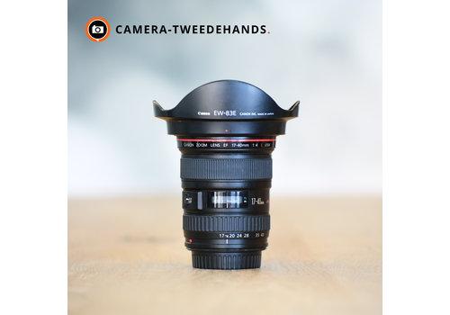 Canon 17-40mm L EF USM -- Incl BTW