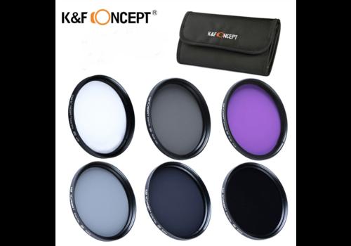 Filterkit - K&F Concept 67mm inclusief etui