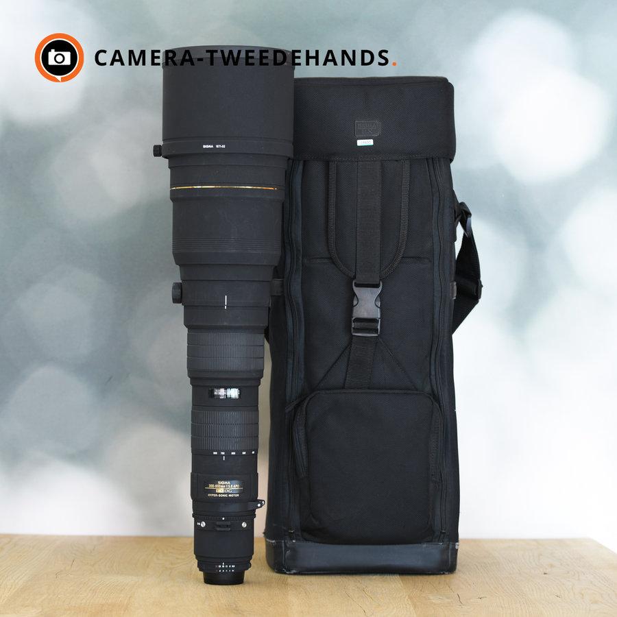 Sigma 300-800mm 5.6 EX DG HSM (Nikon) 'Sigmonster'