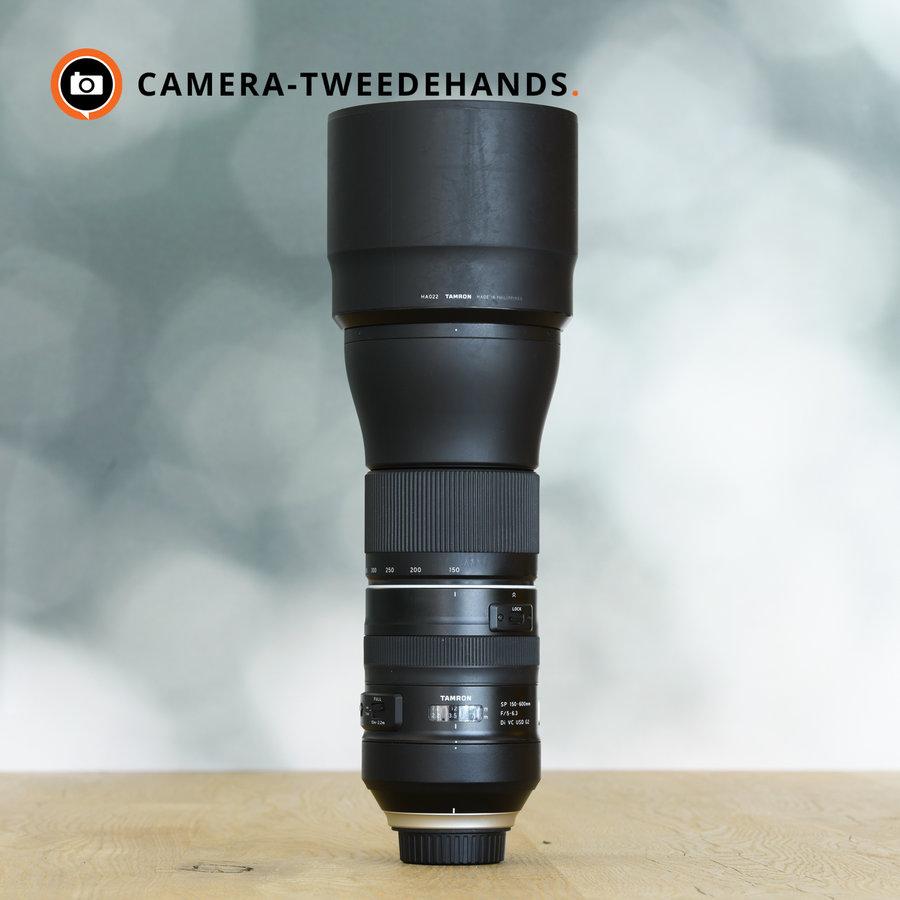 Gereserveerd - Tamron 150-600mm 5-6.3 Di VC USD G2 (Nikon)