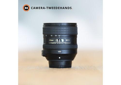 Nikon 24-85mm 3.5-4.5 G AF-S ED VR - Gereserveerd