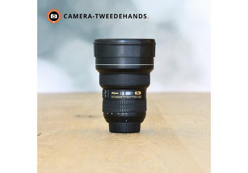 Nikon 14-24mm 2.8 G AF-S  ED (Plekje op glas)