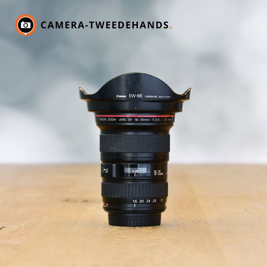 Gereserveerd -- Canon EF 16-35 2.8 L EF USM II