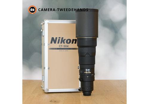 Nikon 500mm 4.0 G AF-S ED VR II - Gereserveerd