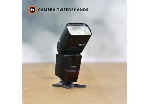 Canon 580EX - Gereserveerd