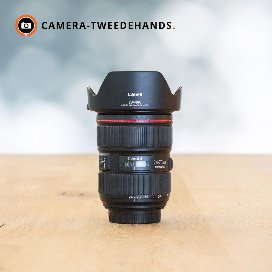 Canon 24-70mm 2.8 L EF USM II -- Incl. BTW