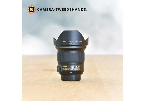 Nikon 20mm 1.8 G AF-S ED