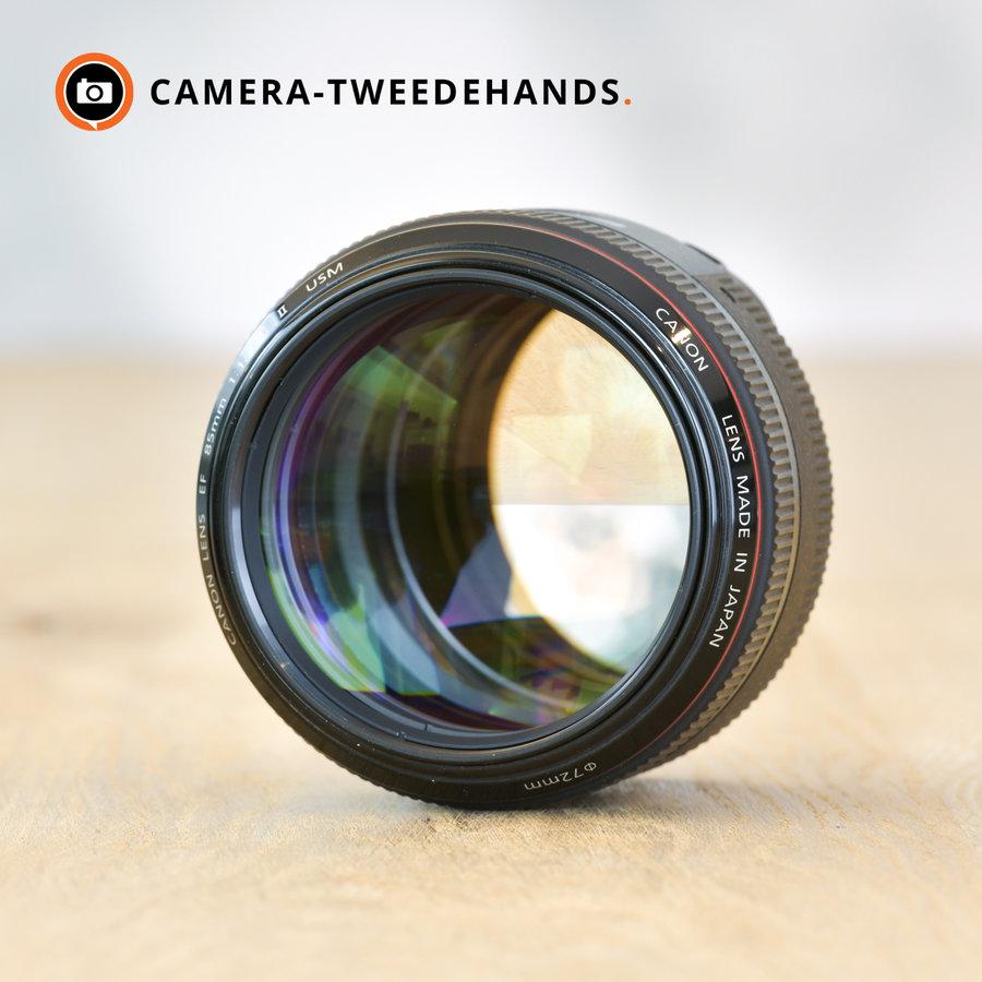 Canon EF 85mm 1.2 L II USM