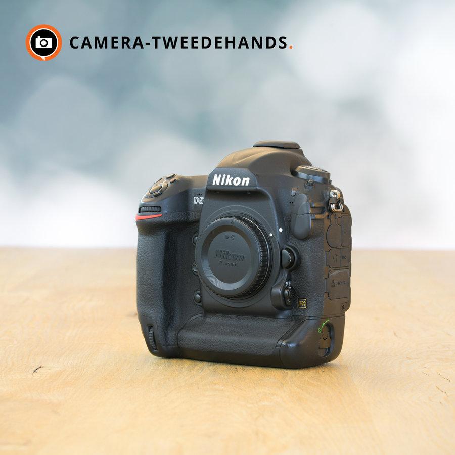 Nikon D5 -- 571770 kliks -- Incl. btw