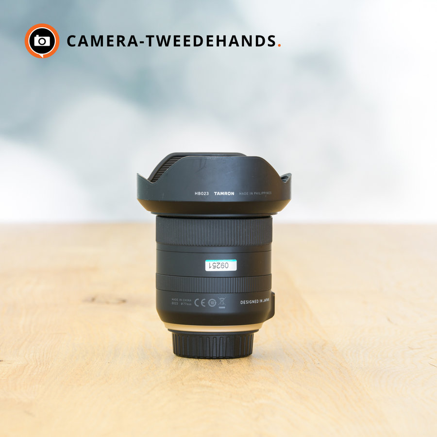 Tamron 10-24mm 3.5-4.5 Di II VC HLD (Nikon) -- Incl. BTW