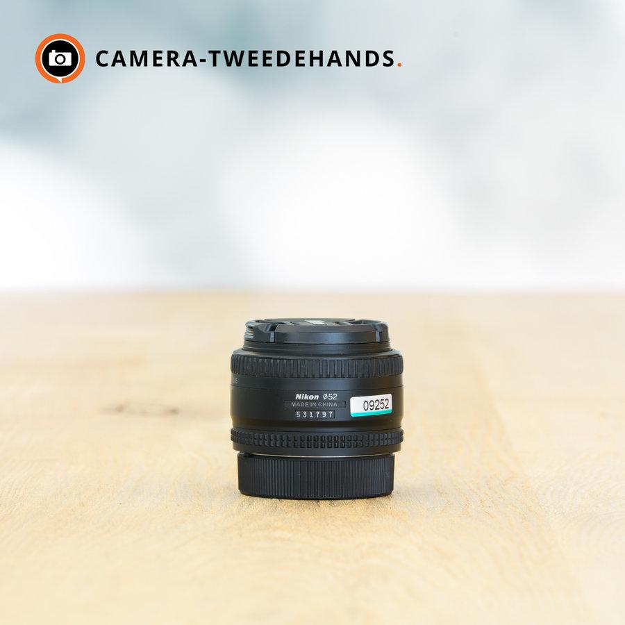 Nikon AF 50mm 1.8 -- Incl. BTW