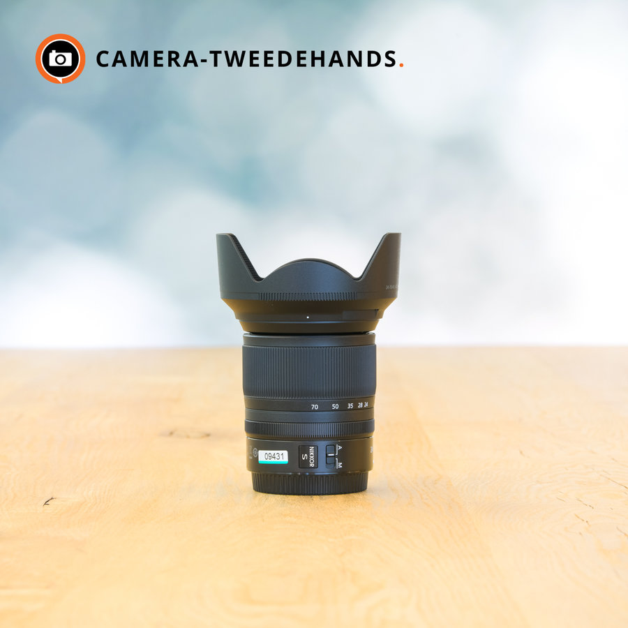Nikon 24-70mm 4.0 S  (Nieuwstaat)