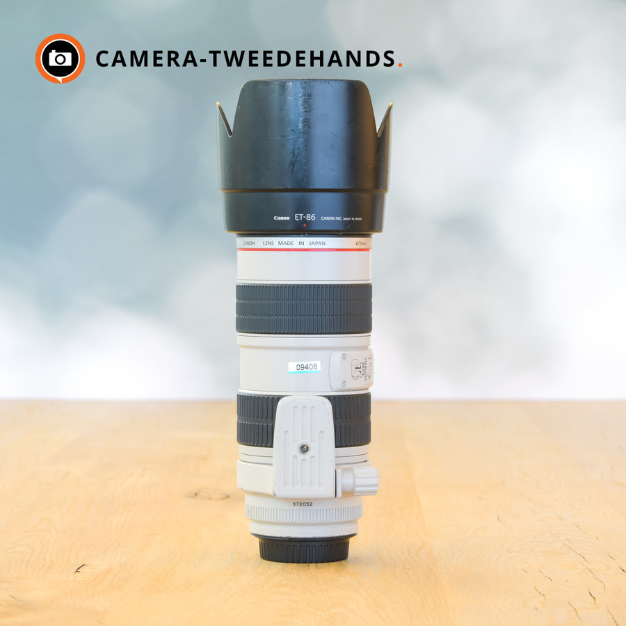 Canon 70-200mm 2.8 L EF IS USM -- Incl BTW