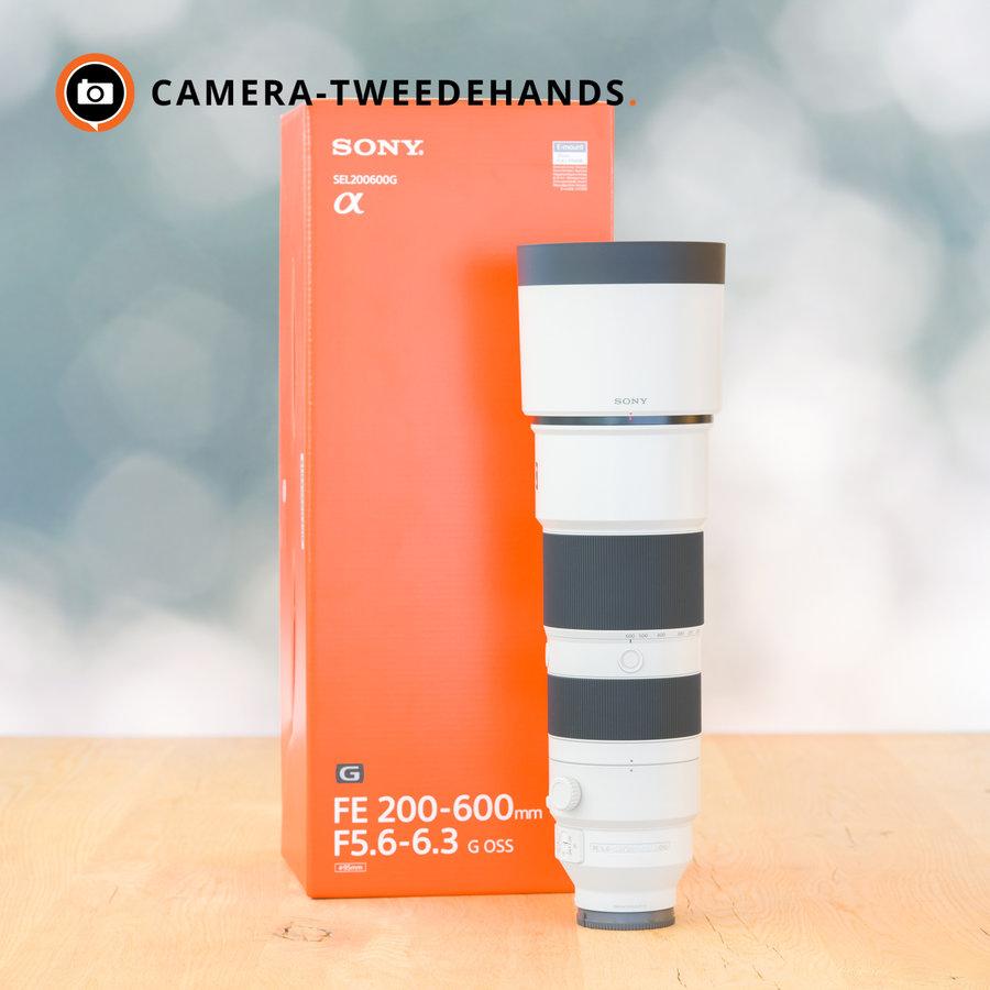 Sony FE 200-600mm 5.6-6.3 G OSS -- Incl. BTW (Nieuw)