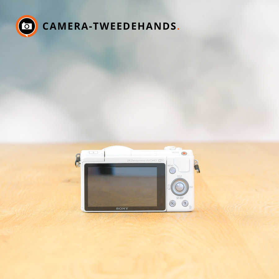 Sony A5100 (Wit) -- OUTLET -- <100 kliks