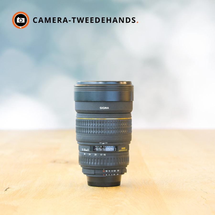 Sigma 15-30mm 3.5-4.5 EX DG ASPHERICAL (Nikon)