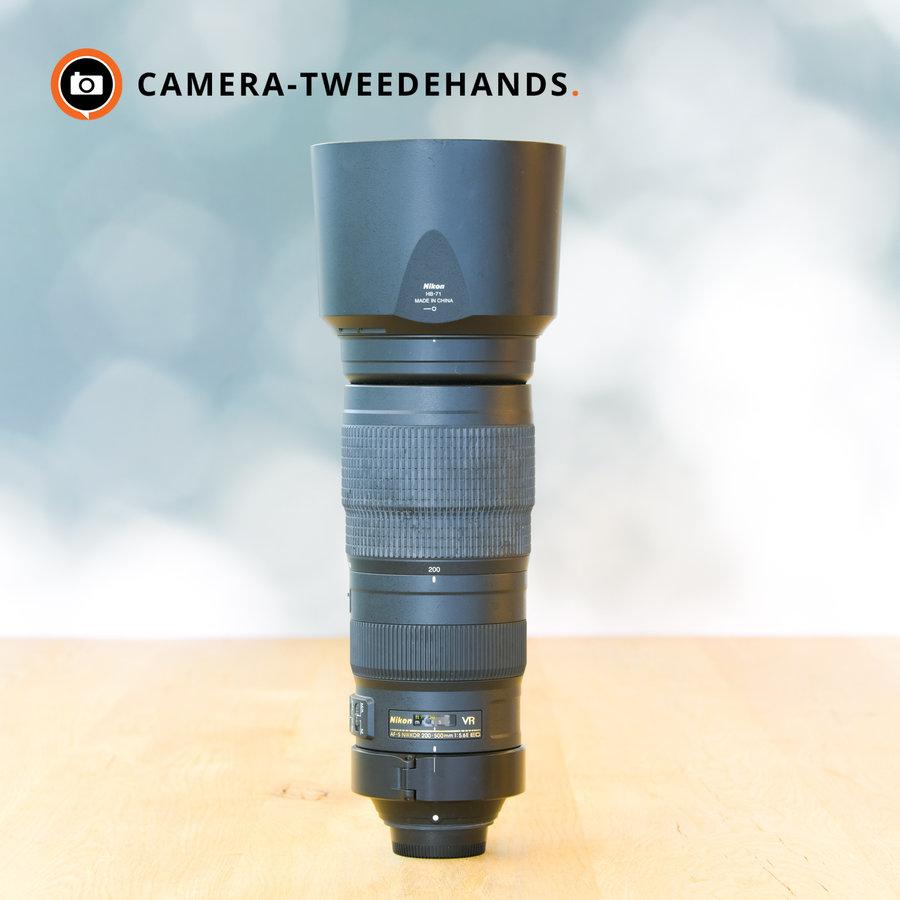 Nikon 200-500mm 5.6 E AF-S ED VR - Gereserveerd t/m: 14-10