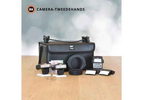 Nikon SB-R1C1 Macro flitsset + SS-MS1 tas