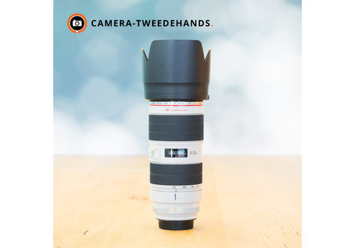 Canon 70-200mm 2.8 L IS II USM (Zie text)