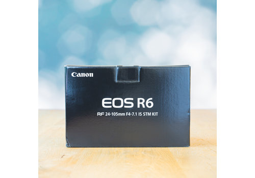 Canon EOS R6 -- Nieuw