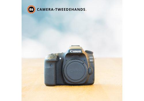 Canon 80D -- 16.672 kliks