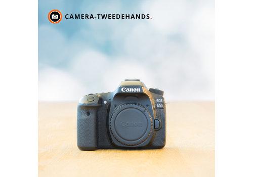 Canon 80D - 32.522 kliks