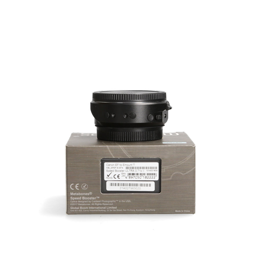 Metabones Adapter Ring Speed Booster Canon EF-E mount