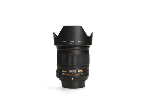 Nikon 28mm 1.8 G AF-S