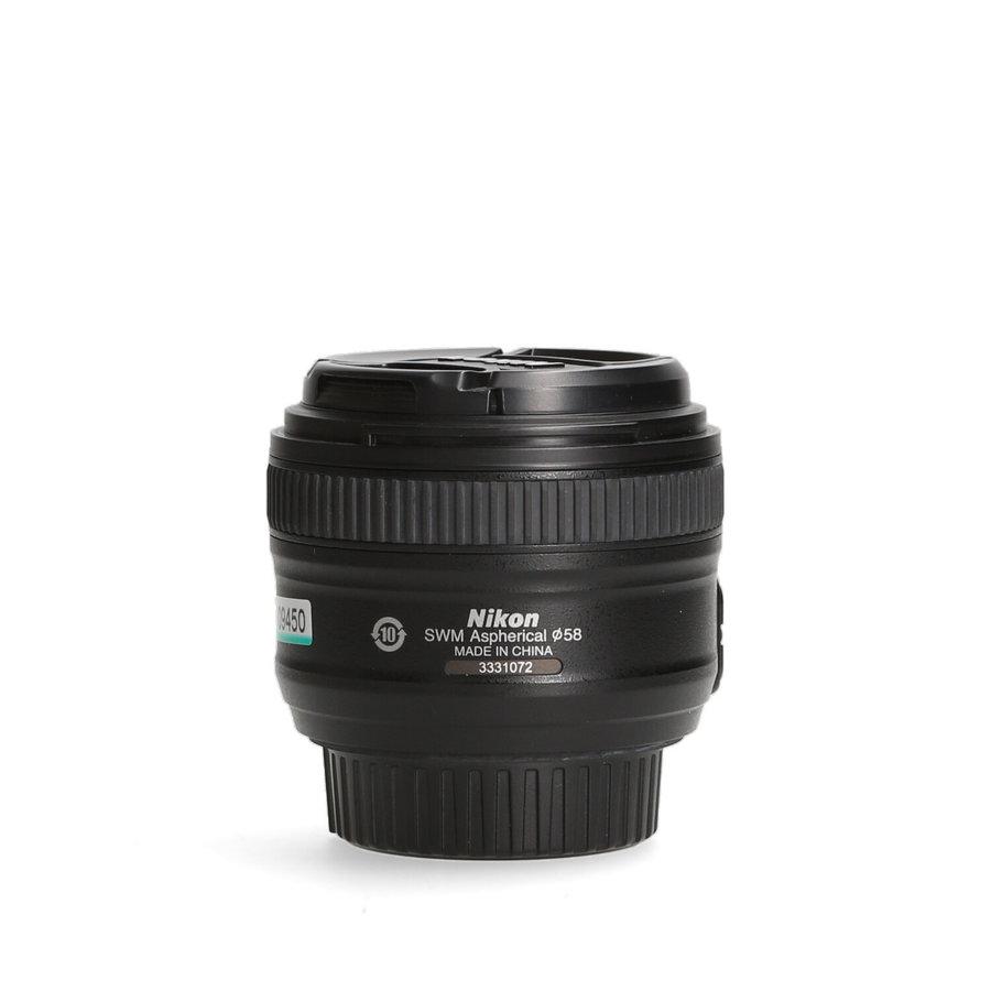 Nikon 50mm 1.8 AF-S G