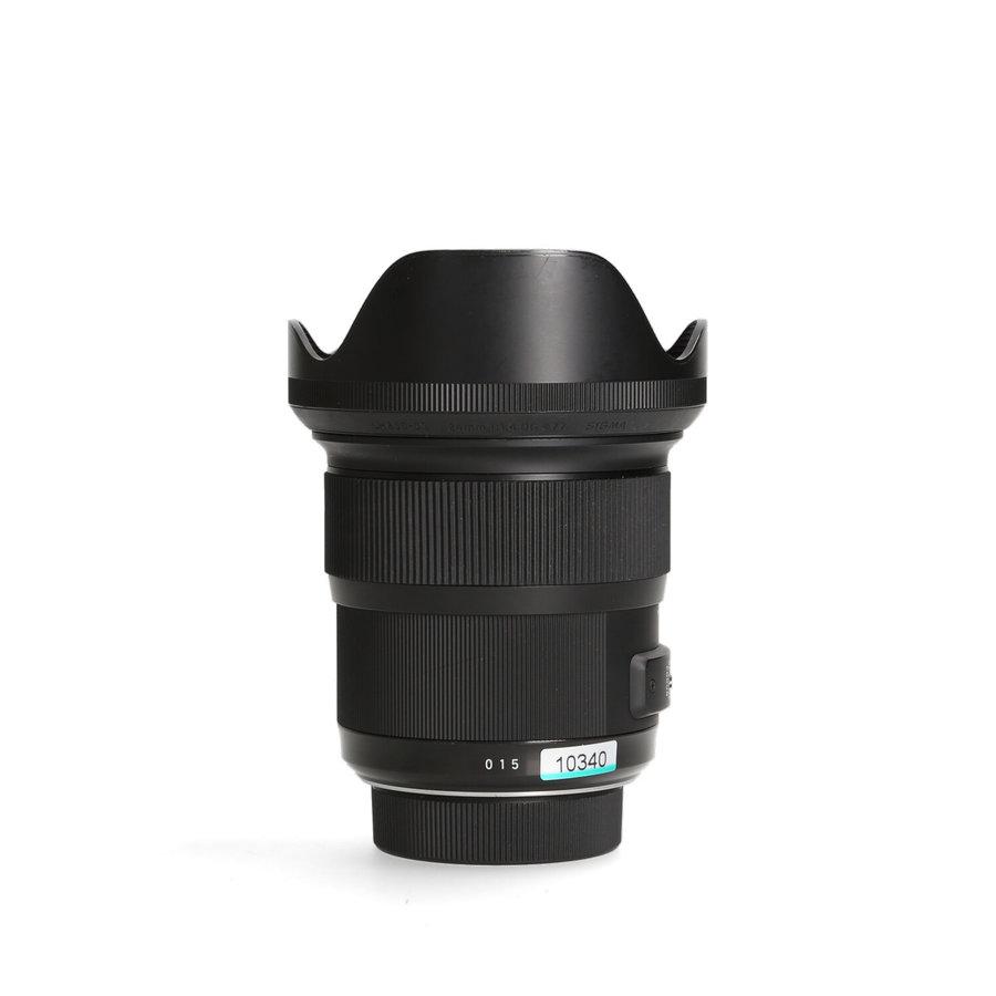 Sigma 24mm 1.4 DG HSM ART (Nikon) -- Incl. BTW