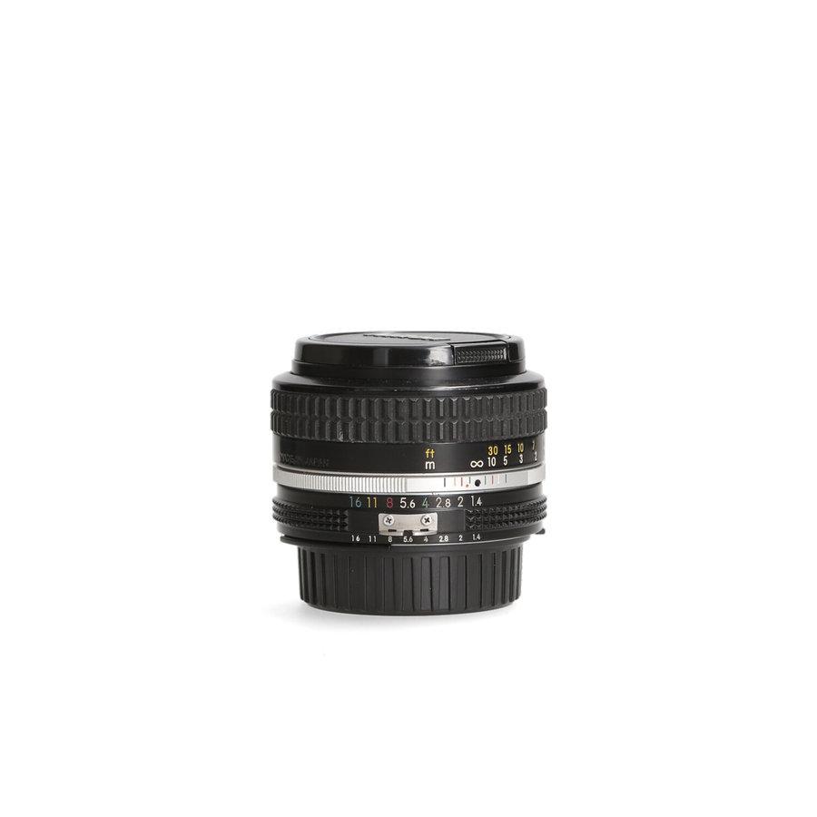 Nikon 50mm 1.4 Ai objectief